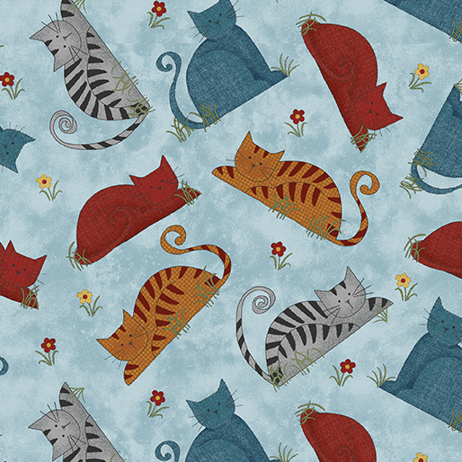 Benartex Colorful Cats 1022250